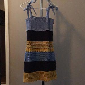 NWT Lulumari Crochet Overlay Dress, Size M
